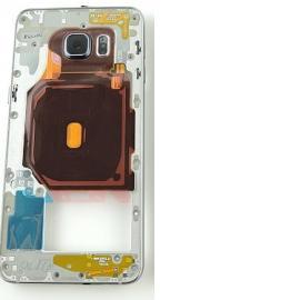 Carcasa Intermedia con Lente Original para Samsung Galaxy S6 Edge+ Plus SM-G928F - Negro