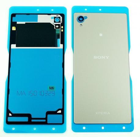 Tapa Trasera de Bateria con NFC Original para Sony Xperia M4 Aqua E2303 - Plata