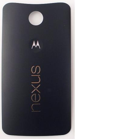 Carcasa Tapa Trasera Motorola Nexus 6 Negra
