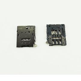 Modulo de Tarjeta SIM Original para Samsung Galaxy S6 SM-G920F, S6 Edge SM-G925F