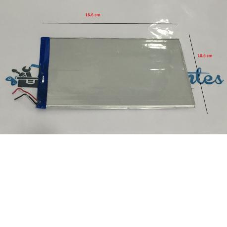 Bateria Universal para Tablet de 16.6 cm x 10.6 cm - Recuperada / Modelo C