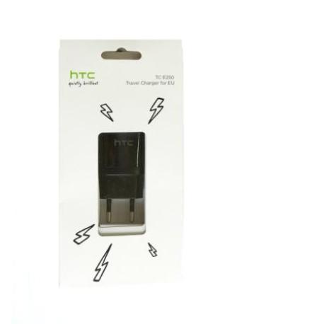 Cargador Original Micro USB TC E250 para HTC - Negro