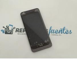 Repuesto Pantalla LCD + Tactil con Marco HTC Desire 626 - Negro