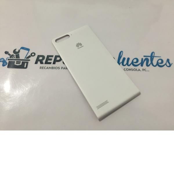Tapa Trasera Original Huawei G6 4G G6-L11 Blanca - Recuperada