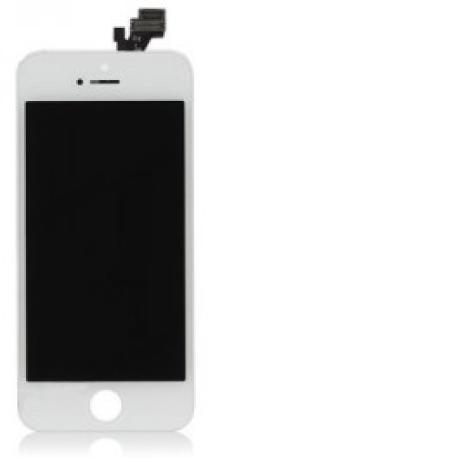 Pantalla LCD Display + Tactil con Pre-Marco para iPhone 5 - Blanca