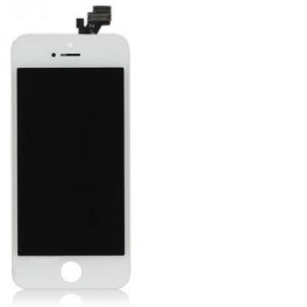 Pantalla LCD Display + Tactil con Pre-Marco para iPhone 5 - Blanca