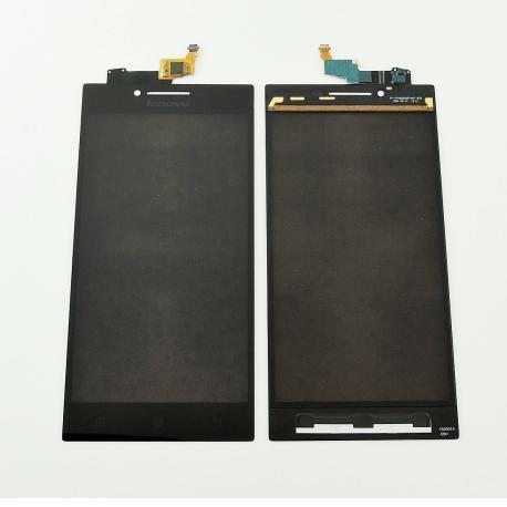 Pantalla Tactil para Lenovo P70 - Negra