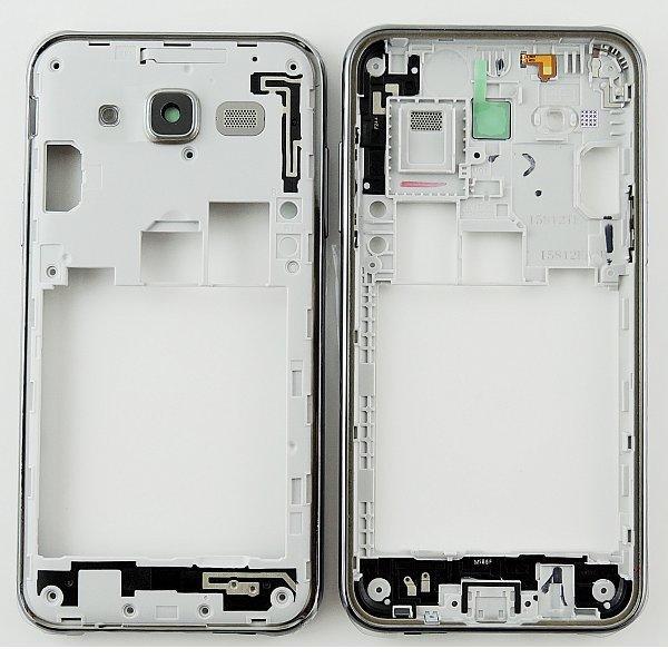 Carcasa Intermedia con Lente de Camara y Botones Laterales Original para Samsung Galaxy J5 SM-J500F - Negra