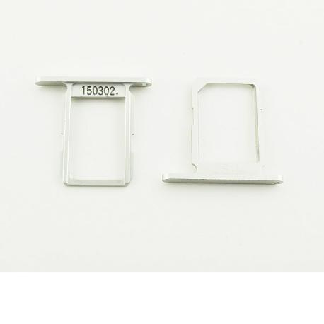 Bandeja de la Tarjeta SIM Original para Samsung Galaxy S6 SM-G920 - Plata / Blanca