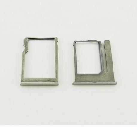 Bandeja de Tarjeta Sim para HTC ONE M8 Mini - Plata