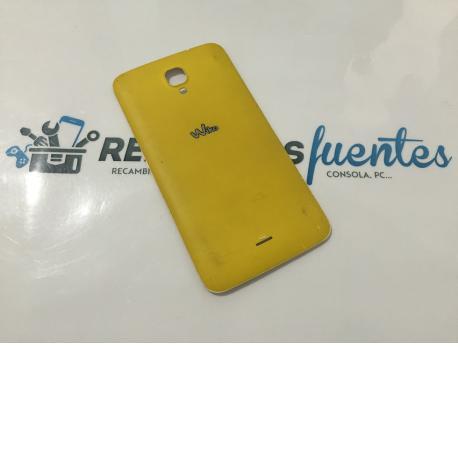 Tapa Trasera de Bateria Original Wiko Bloom Amarilla - Recuperada