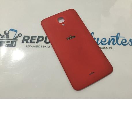 Tapa Trasera de Bateria Original Wiko Bloom roja - Recuperada
