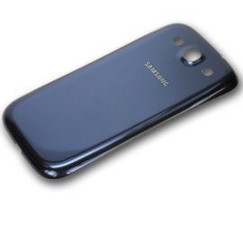 Tapa Trasera de Bateria Original para Samsung Galaxy i9300 i9301i i9301 - Azul / Desmontaje