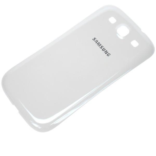 Tapa Trasera de Bateria Original para Samsung Galaxy i9300 S3 neo i9301i i9301 Blanco - Desmontaje