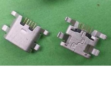 Conector de Carga Micro USB para ZTE Blade L3, BQ 5HD, ST23i