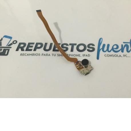 Flex de Carga y Vibrador Original Wiko HIGHWAY 4G Negro - Recuperado / Modelo 1