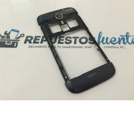 Carcasa Intermedia Original Wiko Darknight - Recuperada