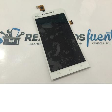 Pantalla LCD Display + Tactil Wiko Wax - Blanca