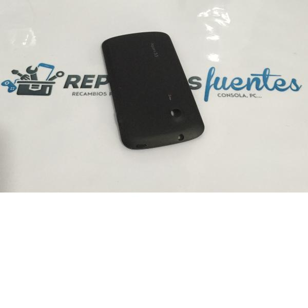 Tapa Trasera de Bateria para Bq aquaris 3.5 - Negra / Recuperada