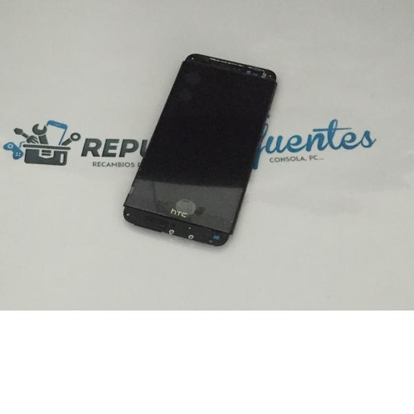 Pantalla Tactil + LCD Display con Marco para HTC One E8 - Negra