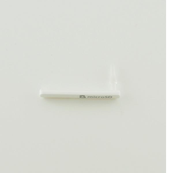 Tapadera de Tarjeta MicroSD para Samsung T116,T111 - Blanca