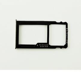 Bandeja de Tarjeta SIM y MicroSD para Huawei Mate S - Blanco