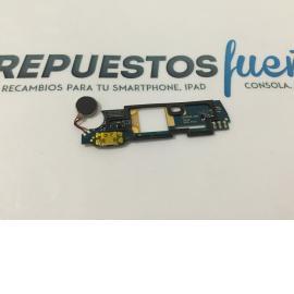 Modulo Conector de Carga y vibrador Original Wiko Ridge Fab 4G - Recuperado