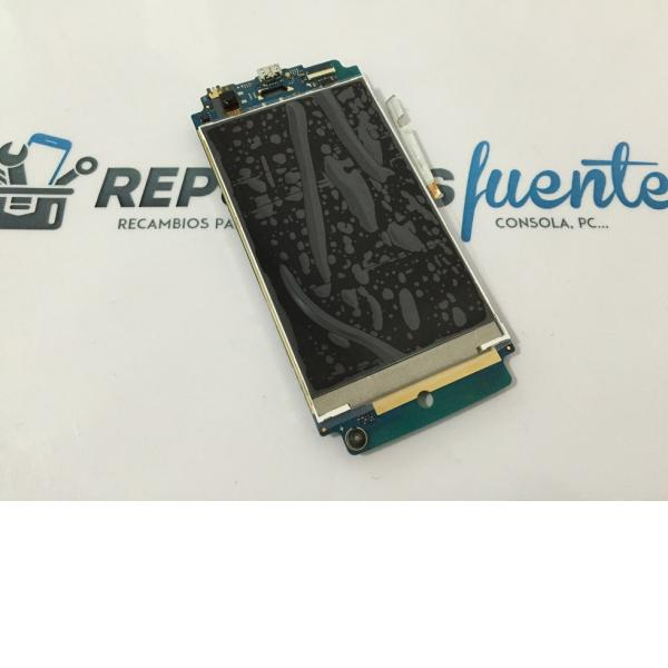 Placa Base con Lcd Display Original Wiko Fizz - Recuperada