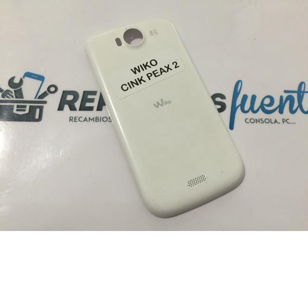 Tapa Trasera Original Wiko cink Peax 2 Blanca - Recuperada