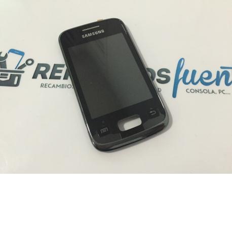 Pantalla Lcd Display + Tactil con Marco Original Samsung S6102 Galaxy Y Duos