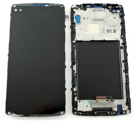 Pantalla LCD Display + Tactil con Marco para LG H960 V10 - Negro