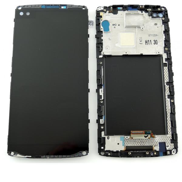Pantalla LCD Display + Tactil con Marco Original para LG H960 V10 - Negro