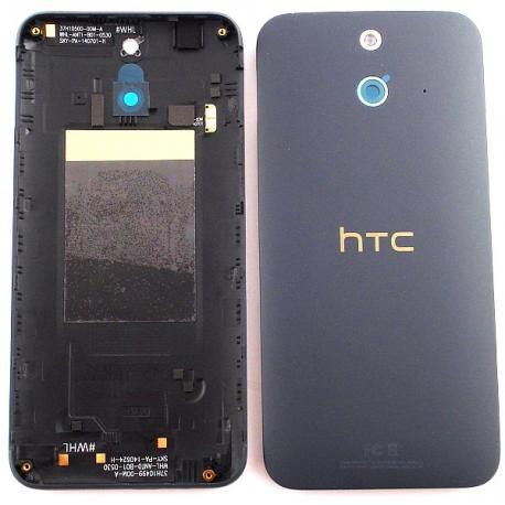 Tapa Trasera de Bateria para HTC One E8 - Negra