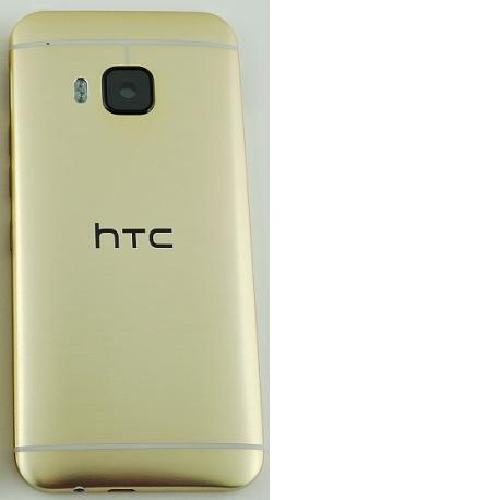 Tapa Trasera de Bateria con Lente de Camara Original para HTC One M9 - Oro