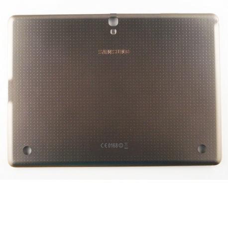 Tapa Trasera de Bateria Original para Tablet Samsung Galaxy Tab S 10.5 T800 - Gris/Oro