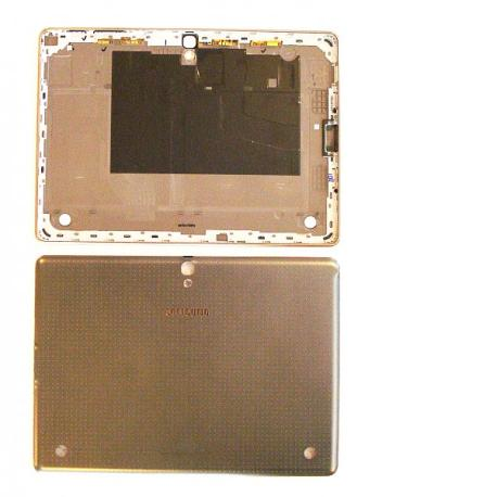 Tapa Trasera de Bateria Original para Tablet Samsung Samsung Galaxy Tab S 10.5 LTE  T805 - Gris - Oro