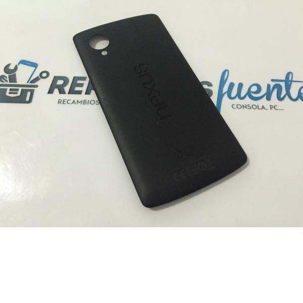 Carcasa Tapa Trasera Original Lg Nexus 5 D820 D821 Negra - Recuperada