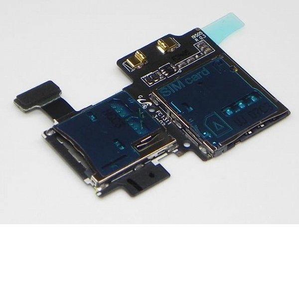 Flex Lector Tarjeta SIM y MicroSD para Samsung Galaxy S4 I9505