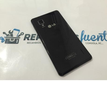 Tapa Trasera Negra Original LG E975 Optimus G - Recuperada