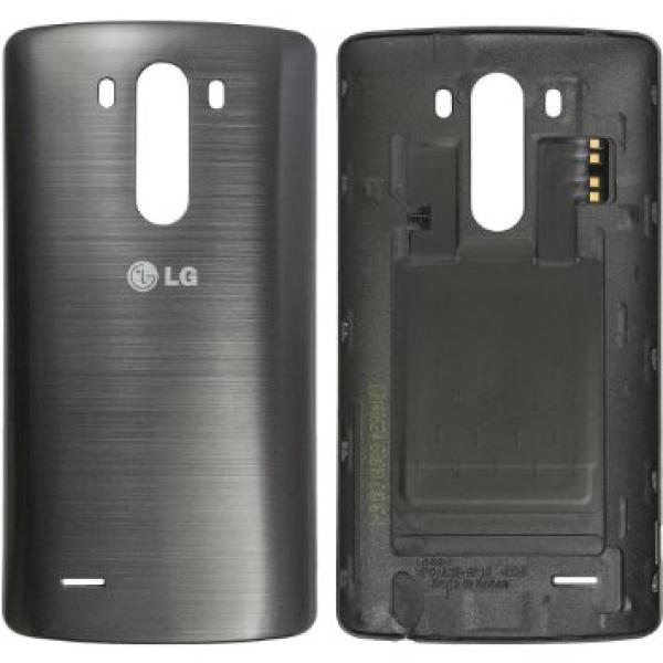Carcasa Tapa Trasera Original Lg G3 D855 con NFC Gris - Recuperada