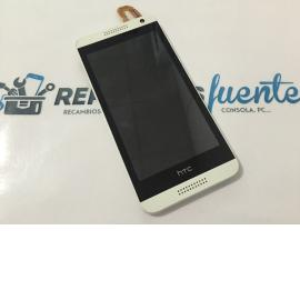 Pantalla Lcd Display + Tactil Con Marco Original HTC Desire 610 Blanco - Recuperado