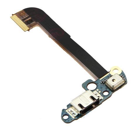 Flex Conector Carga Micro USB con  Microfono para HTC One M7  801e