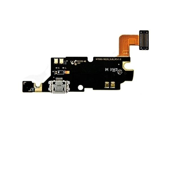 Flex de Carga Micro USB y Microfono para Samsung Galaxy Note 1 N7000