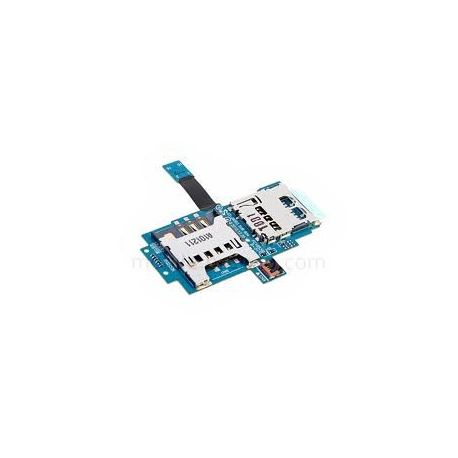 Flex+Placa Modulo Sim+Memoria Original Samsung i9003 Galaxy SCL