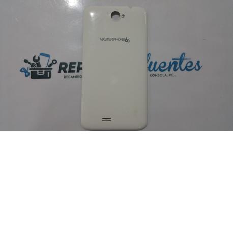 Carcasa Trasera de la bateria MasterPhone 6S blanca - Recuperada