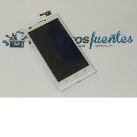 Pantalla Tactil + LCD Display con Marco Original para ZTE Blade L2 Blanca - Recuperado