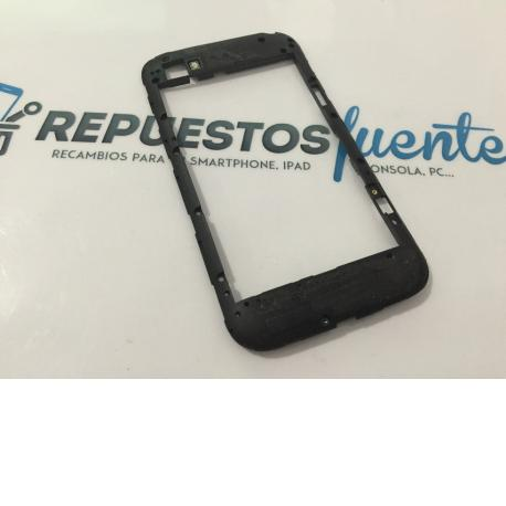 Carcasa Intermedia Original para Blackberry Q20 - Recuperada