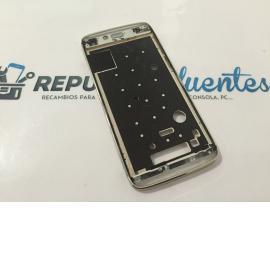 Marco Frontal Original Alcatel ONE Touch Idol Alpha OT-6032 Oro - Recuperado
