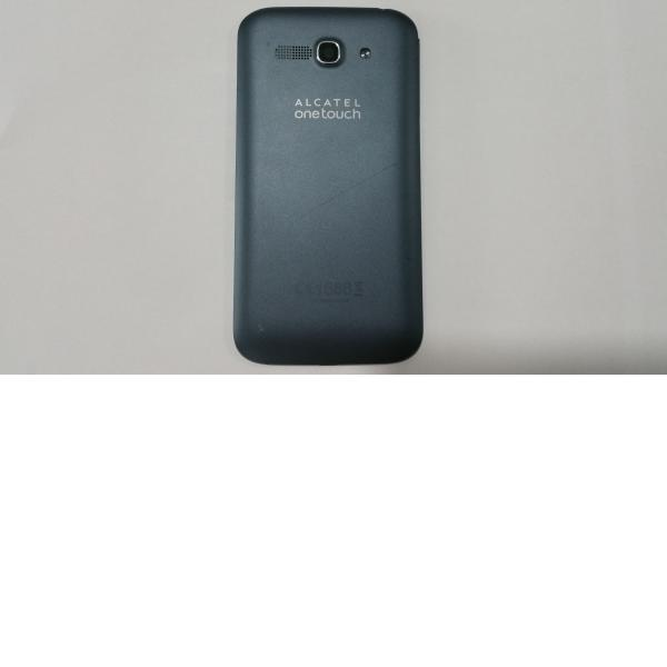 Carcasa Trasera de la bateria Alcatel Touch POP C9 negra - Recuperada