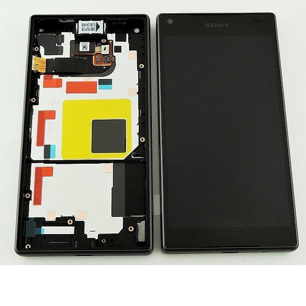 Pantalla LCD Display + Tactil con Marco Original para Sony Z5 Compact E5823, E5803 - Negra